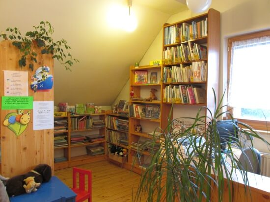Podgórska Biblioteka Publiczna Filia nr w Krakowie Swoszowicach / fot. arch. Biblioteki