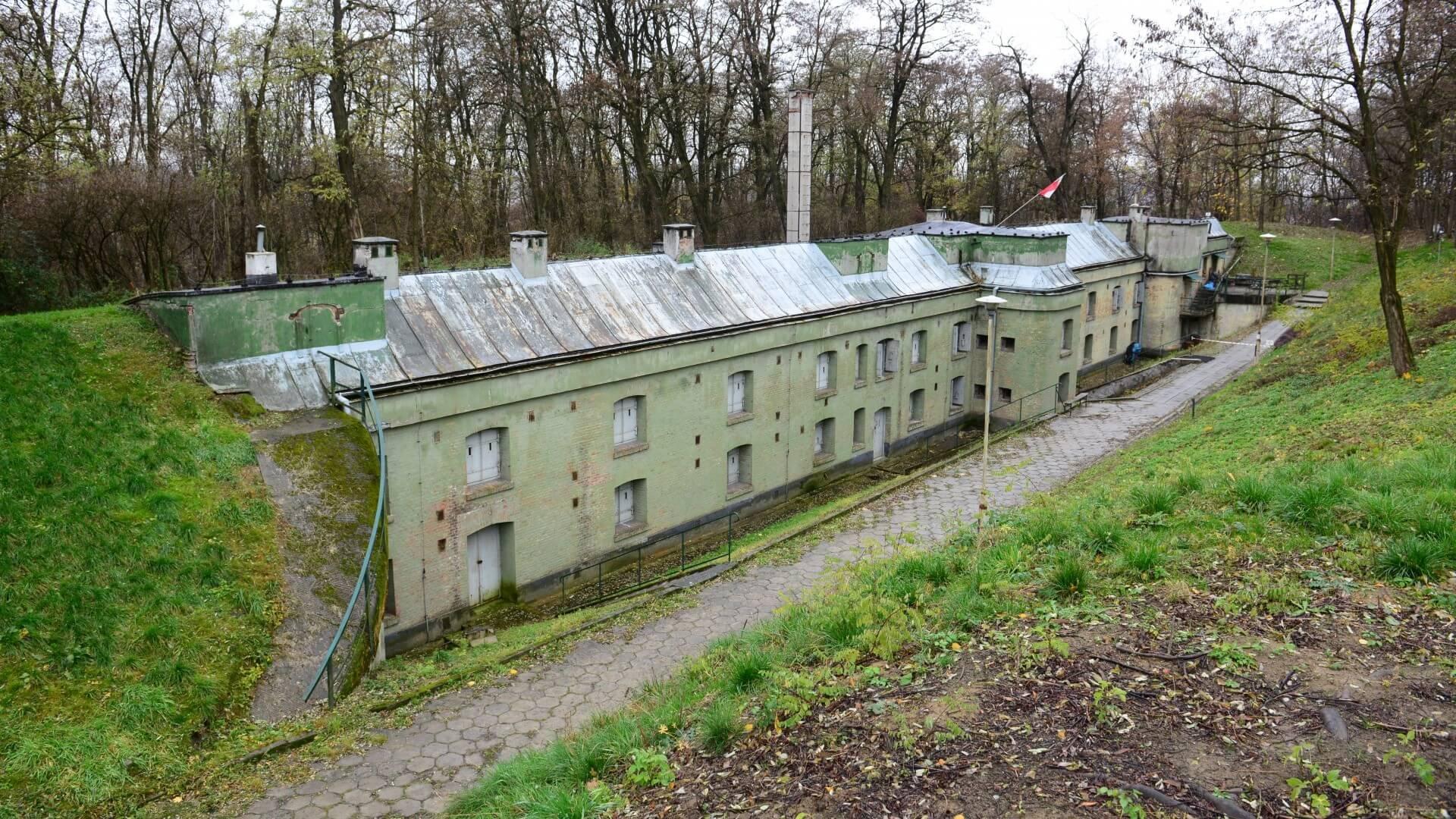 Muzeum Spraw Wojskowych. Fort Swoszowice. Stan obecny / fot. Bartosz Cichoń