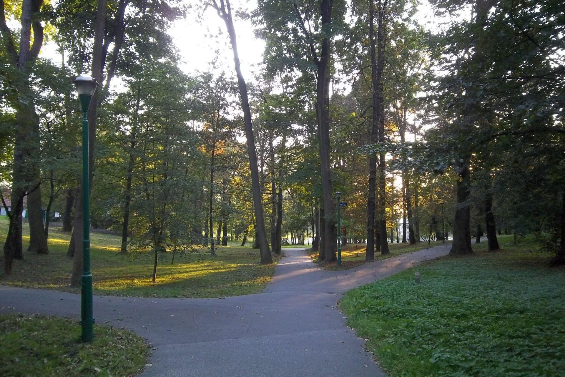 Park przy Uzdrowisku Swoszowice / fot. Elżbieta Ćwik