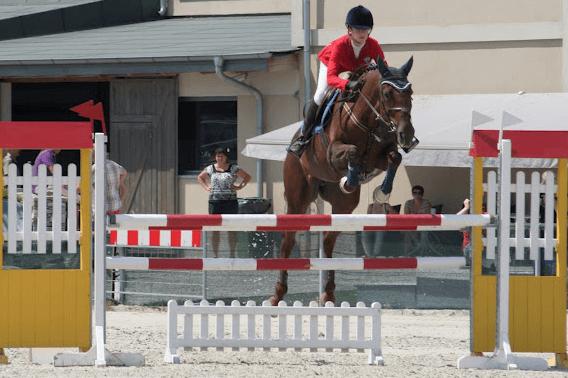 WLKS Krakus sekcja jeździecka. Monika Grundkowska