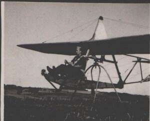 Andrzej Pamuła - pierwszy lot