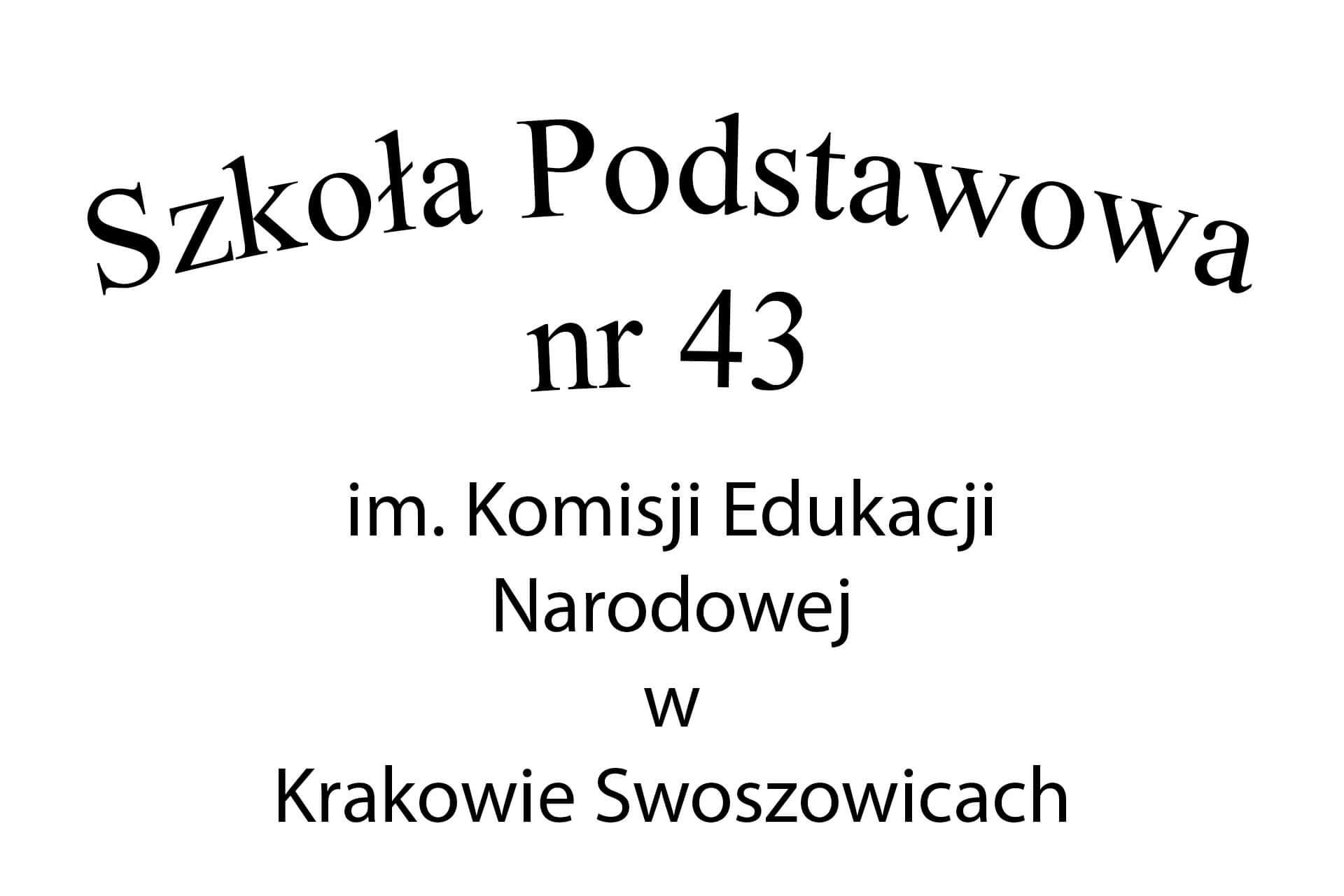 Szkoła Podstawowa nr 43 im. KEN w Krakowie Swoszowicach
