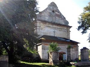 Zrujnowany kościół p.w. Św. Michała Archanioła w Michalczach. Tragedia księży z parafii we Wróblowicach