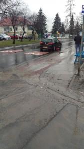 Przystanek autobusowy przy ul. Myślenickiej (koło Szkoły Podstawowej nr 43, naprzeciwko Lewiatana)