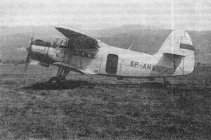 Andrzej Pamuła fot. arch. / Samolot An-2, WSK Mielec, 1959 r.