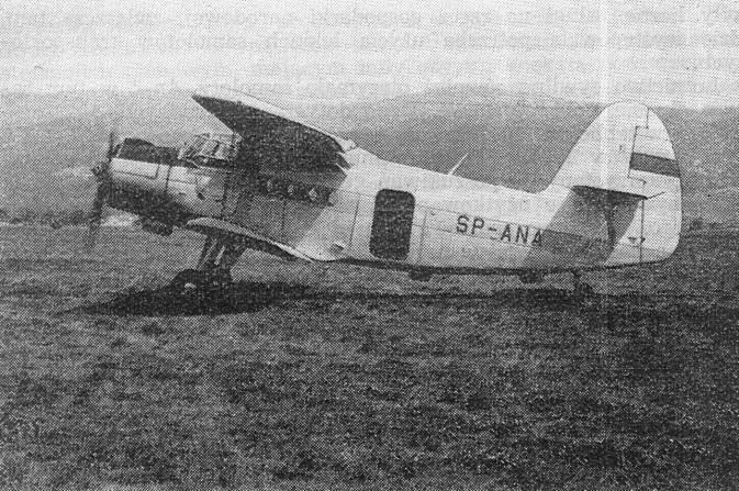 Samolot An-2, WSK Mielec, 1959r.