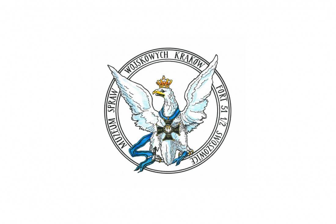 Znak Muzeum Spraw Wojskowych mieszczącego się w Forcie Swoszowice
