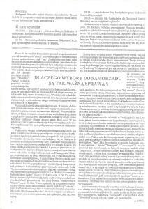 Informator Swoszowicki. Numer drugi, strona 2.