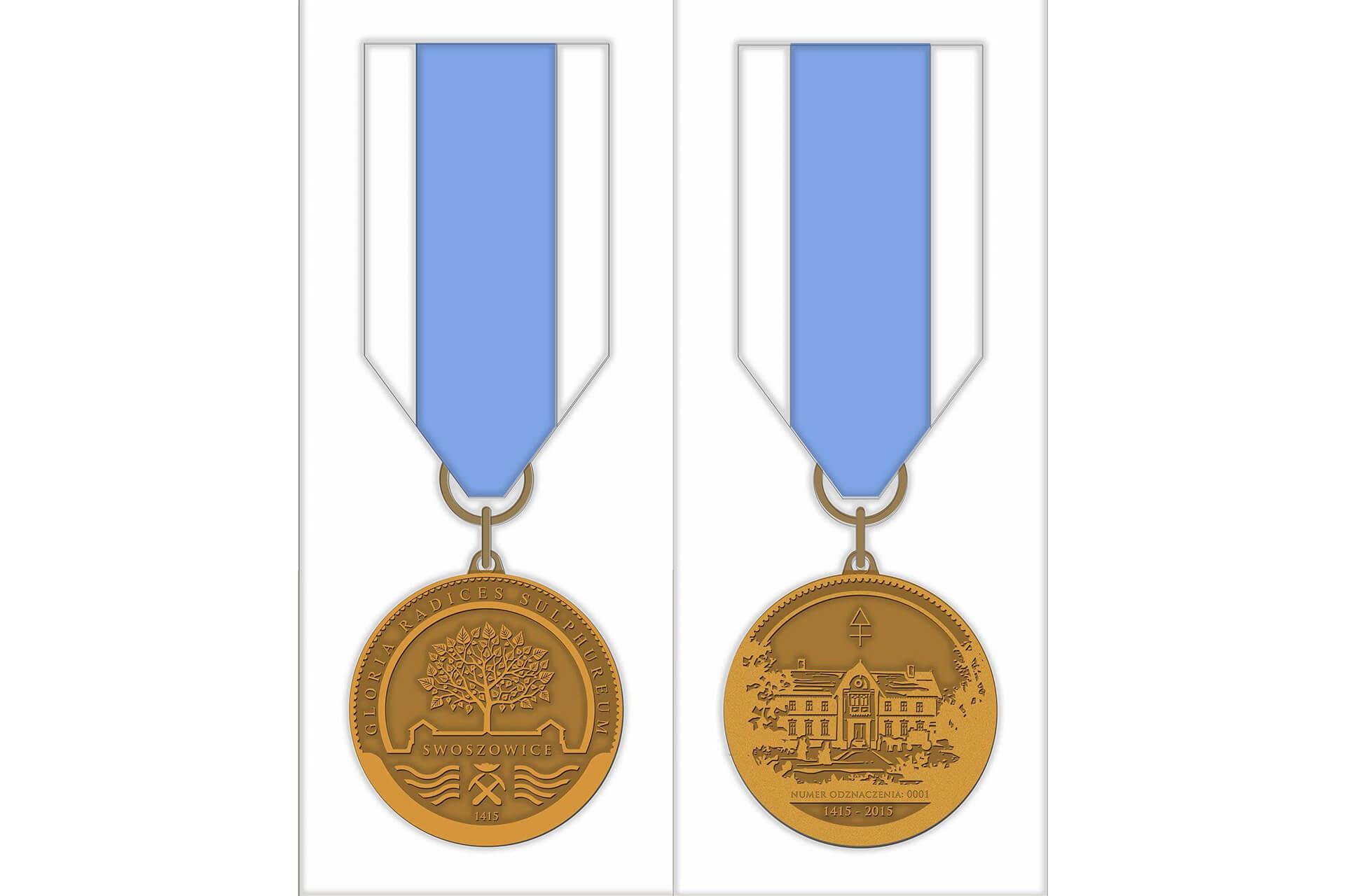 """Medal Gloria Radices Sulphurum """"Chwała Siarczanym Korzeniom"""""""