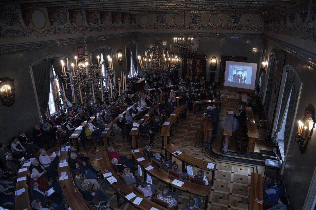 Międzynarodowy Dzień Przewodnika. Sala Plenarna UMK / fot. UMK