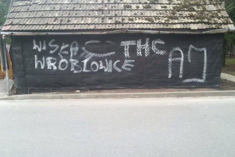 Wandale w Swoszowicach niszczą mienie mieszkańców / fot. Sylwia Krawczyk