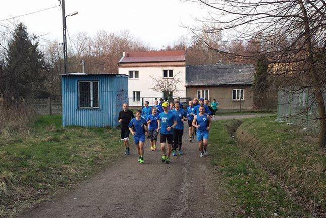 Czwartkowy trening biegowy. Bieg Swoszowicki. ITMBW trening biegowy