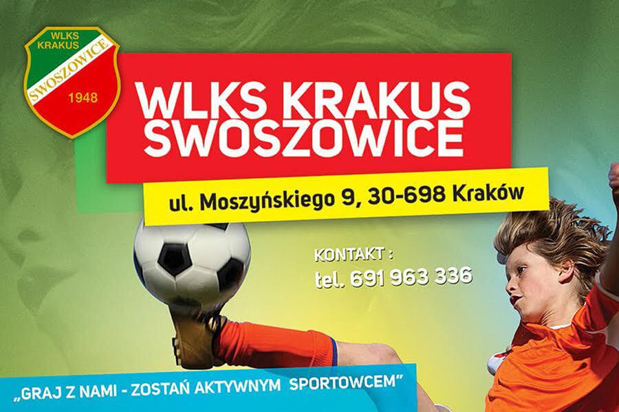 Rekrutacja do sekcji piłkarskiej WLKS Krakus