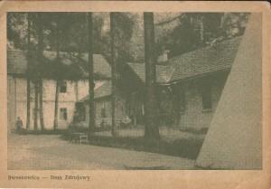 Kartka pocztowa - Swoszowice - Dom Zdrojowy 1948