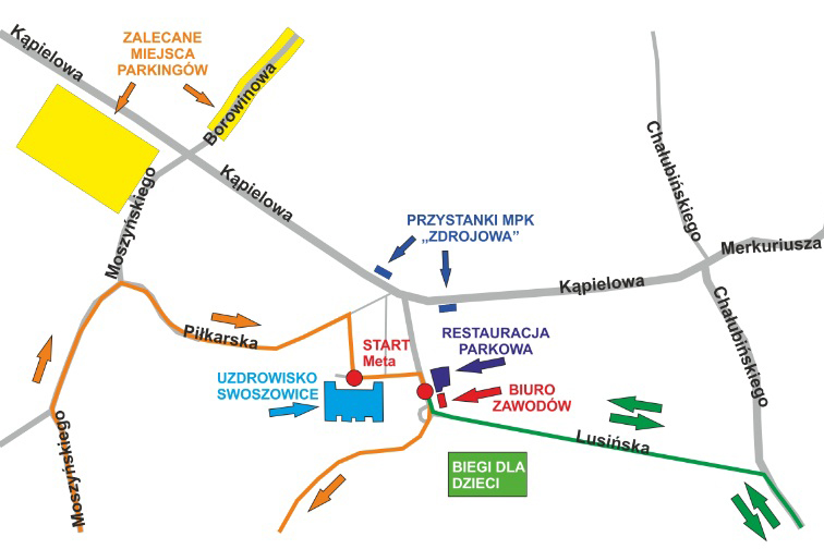 Trasa Biegu Swoszowickiego