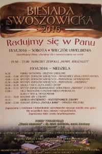 Biesiada Swoszowicka 2016 - plakat