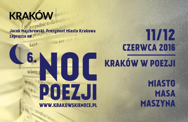 Noc Poezji 2016 Krakow