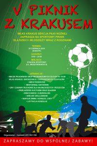 V Piknik z Krakusem / fot. WLKS Krakus sekcja piłkarska