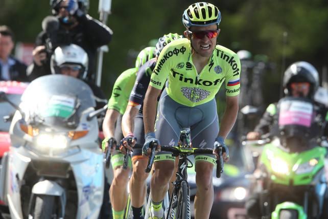 Rafał Majka Giro d'Italia 2016 / fot. ze źródła WLKS Krakus BBC Czaja