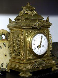 Zegar z mosiądzu / fot. arch. autora