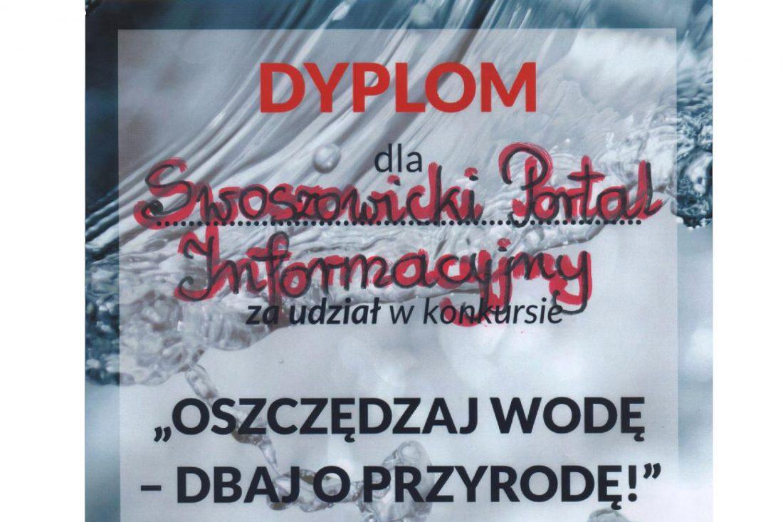 Dyplom od Przedszkola Samorządowego nr 132 w Krakowie Swoszowicach