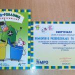 Eko-dzieciaki certyfikaty / fot. Joanna Kosiarska