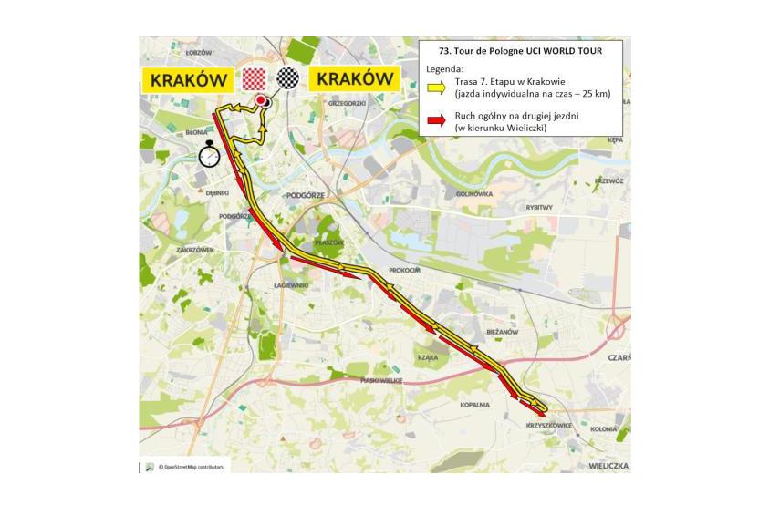 Tour de Pologne w Krakowie 2016