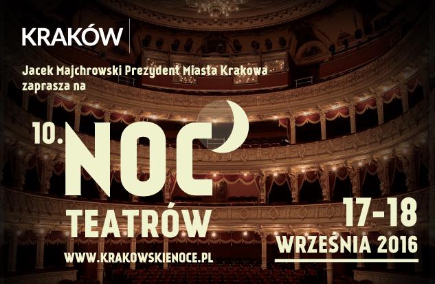10 Noc Teatrów w Krakowie / fot. KrakówPL