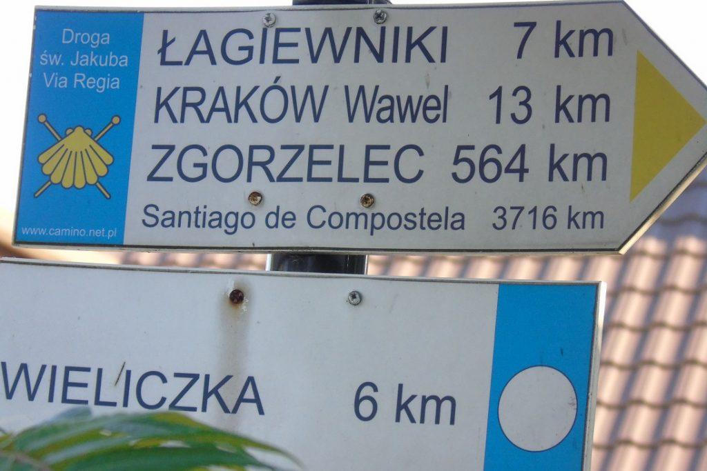 Daleka droga do celu- 3716 km.