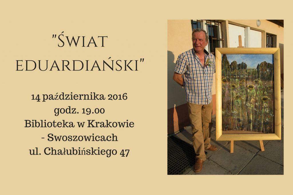 Edward Duda wystawa 14.10.2016