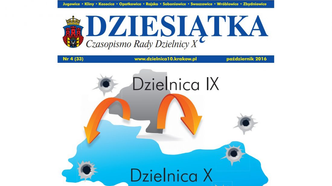 Strona tytułowa czasopisma Dziesiątka