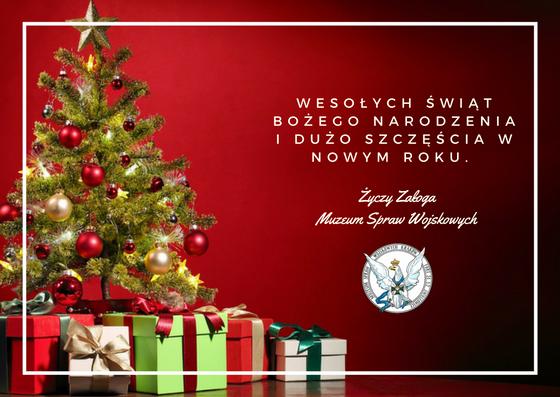 Życzenia od Muzeum Spraw Wojskowych / fot. MSWojsk