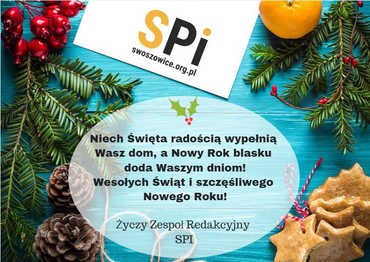 Życzenia świąteczno-noworoczne SPI