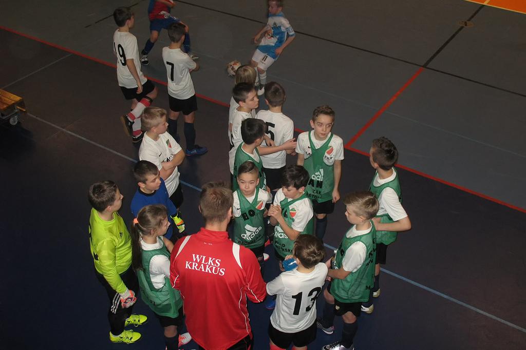 Noworoczny Turniej Młodzików 2005 / fot. WKLS Krakus