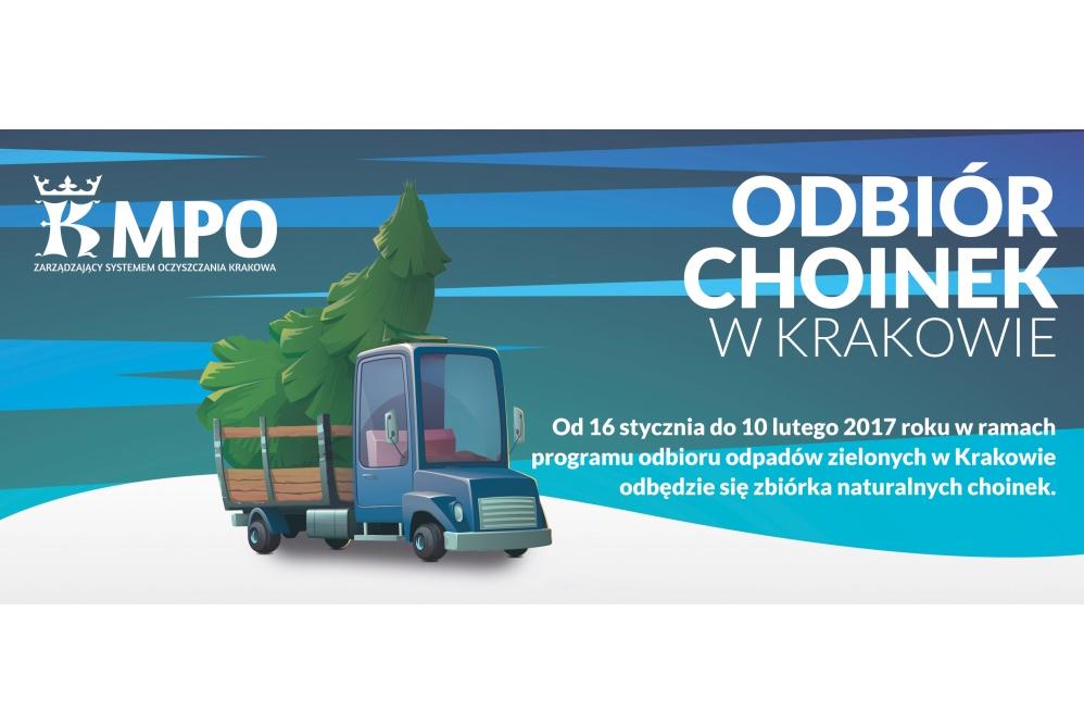 Zbiórka choinek 2017 / fot. MPO Kraków