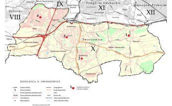 Mapa Dzielnicy X