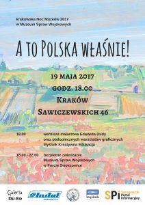 A to Polska właśnie! Noc Muzeów w Muzeum Spraw Wojskowych
