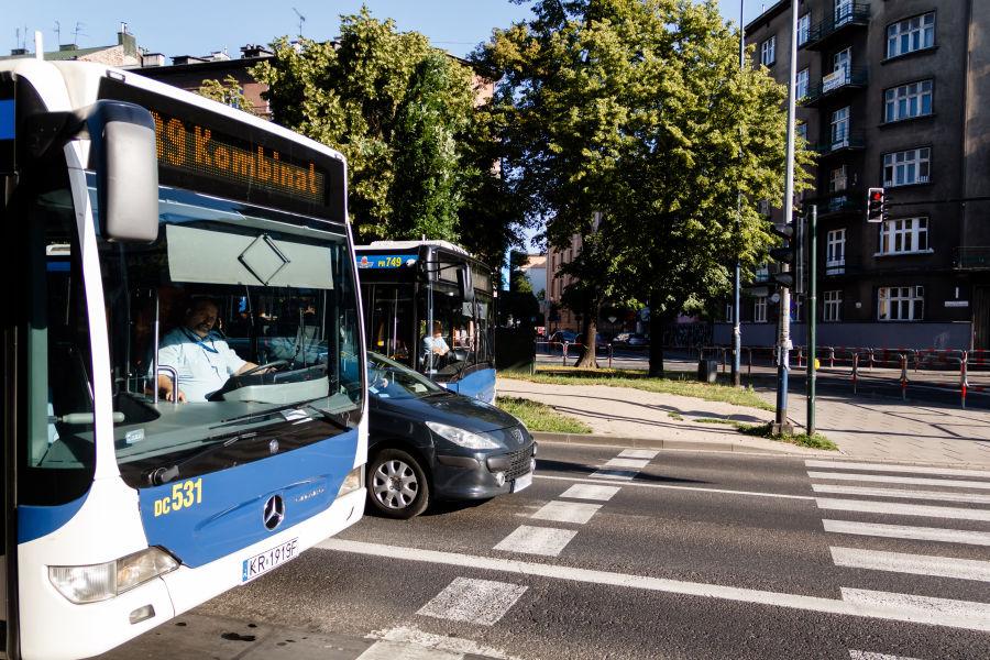 Wakacyjne zmiany w komunikacji miejskiej / MPK Kraków