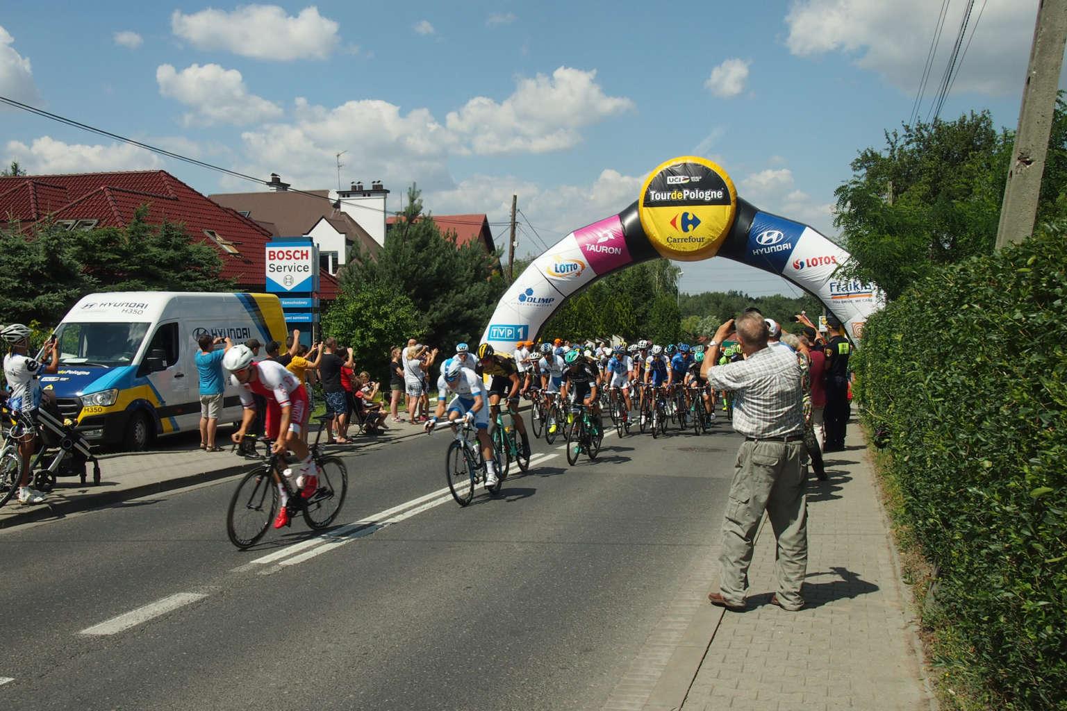 Tour de Pologne - start ostry w Swoszowicach / fot. SPI