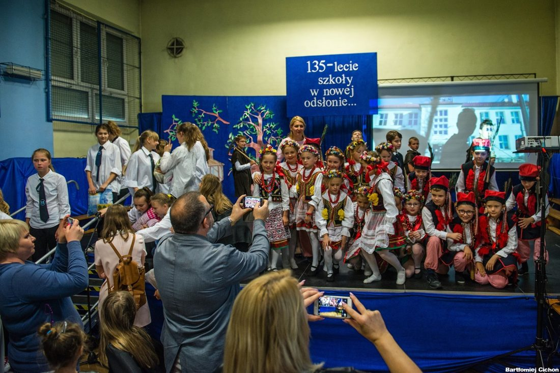 135-lecie istnienia Szkoły Podstawowej nr 43 w Krakowie Swoszowicach / fot. Bartłomiej Cichoń