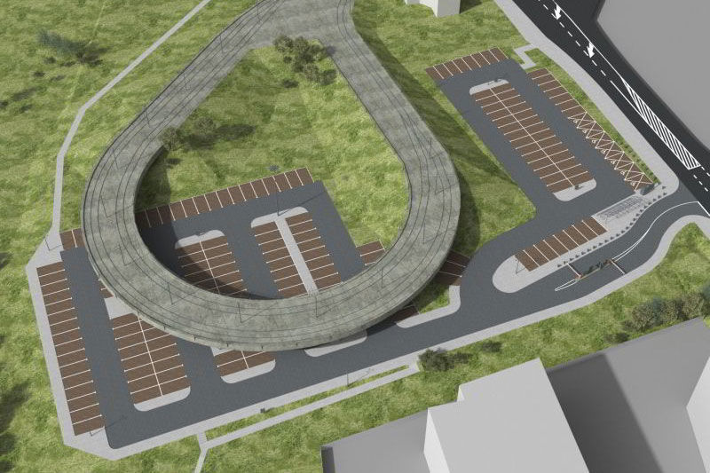 W sobotę otwarcie parkingu P+R Kurdwanów / fot. Miejska Infrastruktura