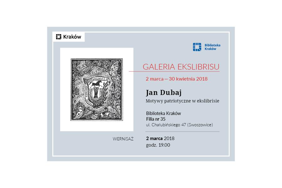 Exlibris - Jan Dubaj