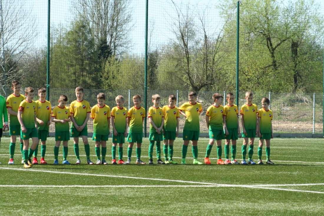 Udany start Młodzików / fot. WLKS Krakus