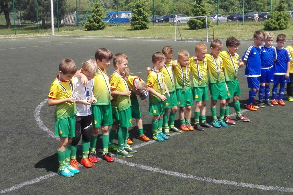 Żaki na mini turnieju w Wadowicach / fot. WLKS Krakus