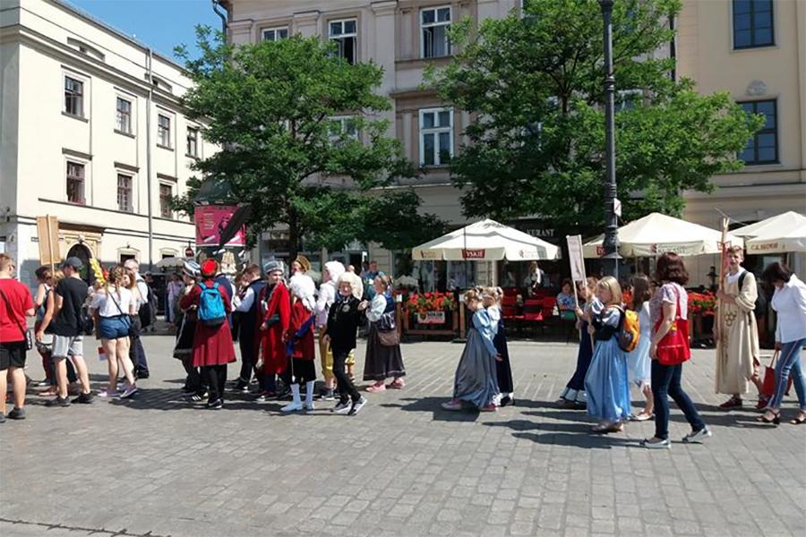 Parada Patronów / SP nr 43