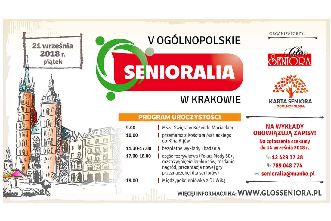 V Senioralia w Krakowie