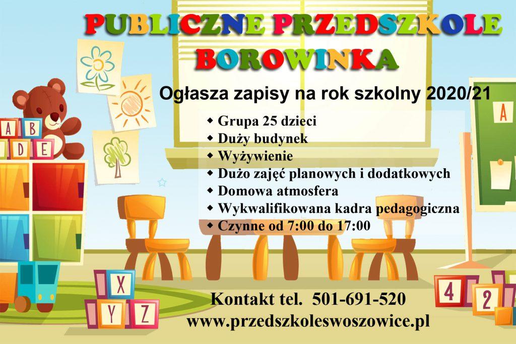 Publiczne Przedszkole Borowinka Kraków Swoszowice