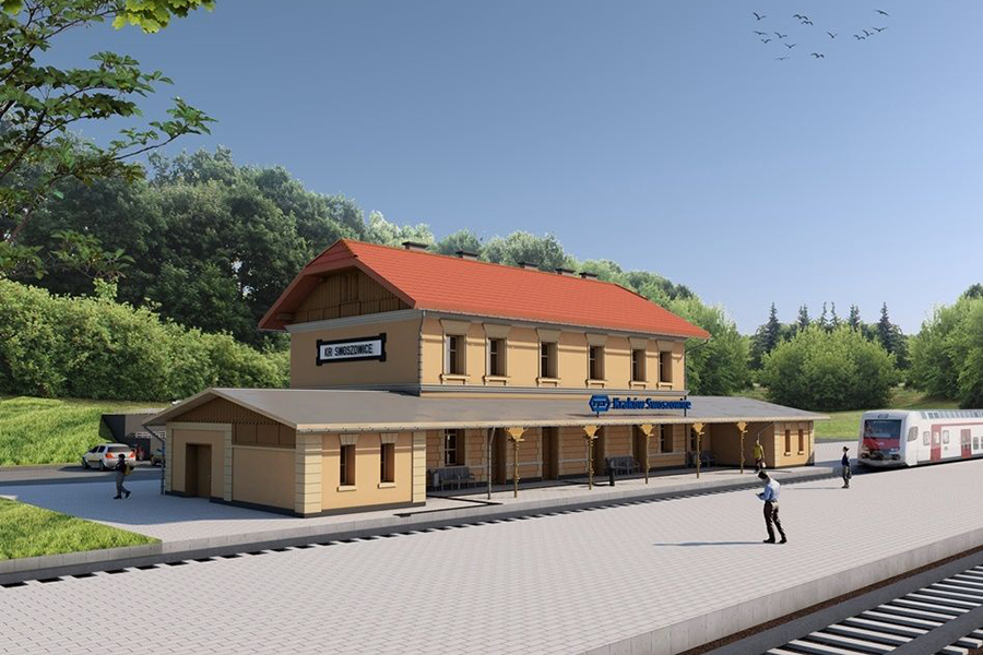 dworzec w Swoszowicach