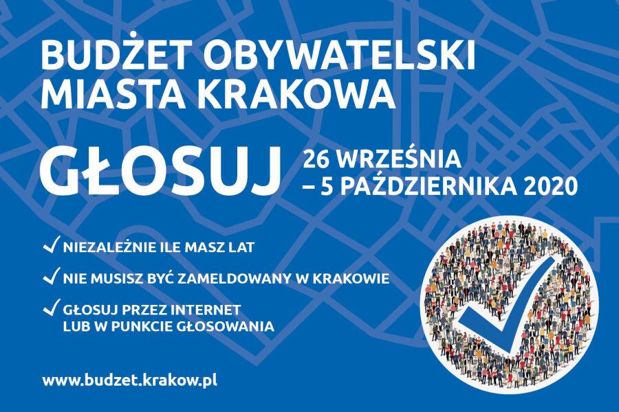 Budżet Obywatelski Miasta Krakowa2020