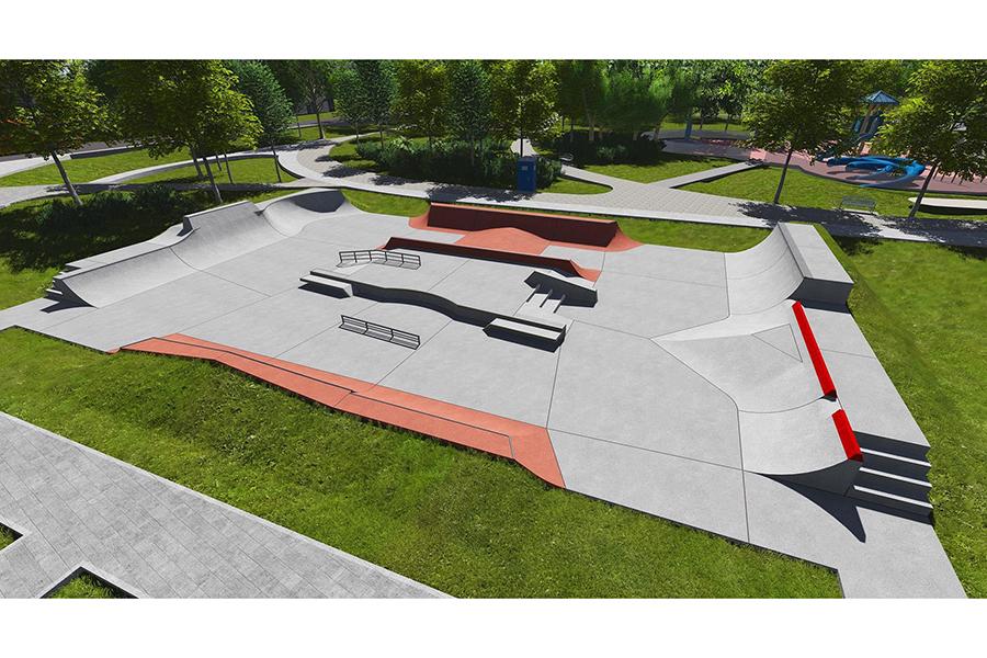 Skatepark przy Kąpielowej